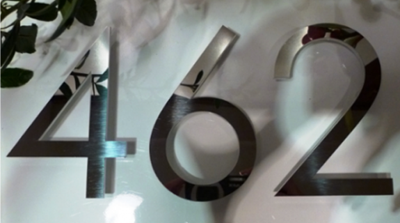 100 to 150mm stainless steel letters and numbers