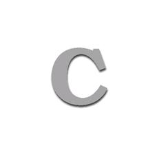Letter C 90mm Serif