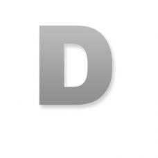 Letter D 50mm