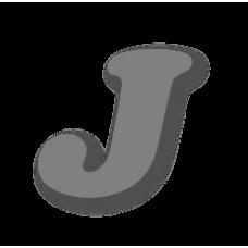 Letter J 150mm