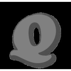 Letter Q 150mm