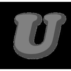 Letter U 150mm