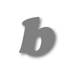 Letter b 100mm