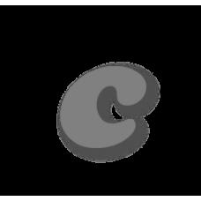 Letter c 100mm