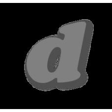 Letter d 100mm