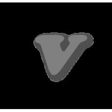 Letter v 100mm