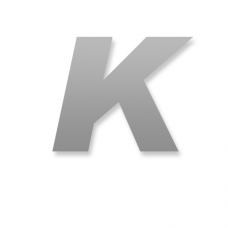 Letter K 90mm