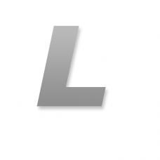 Letter L 90mm