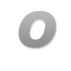 Letter O 90mm