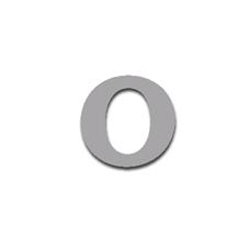 Letter O 90mm Serif