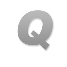Letter Q 90mm