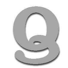 Letter Q 150mm Serif