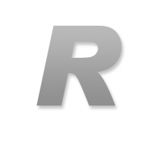 Letter R 90mm