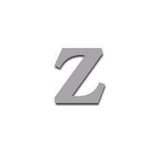 Letter Z 90mm Serif