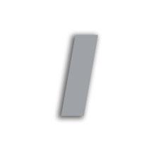 Letter l 70mm
