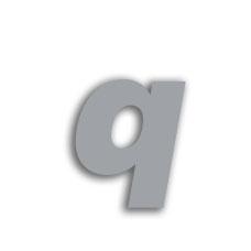 Letter q 70mm
