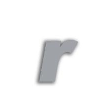 Letter r 70mm