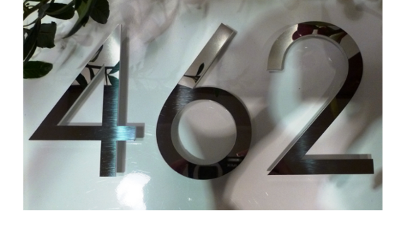 100mm to 150mm stainless steel letters and numbers